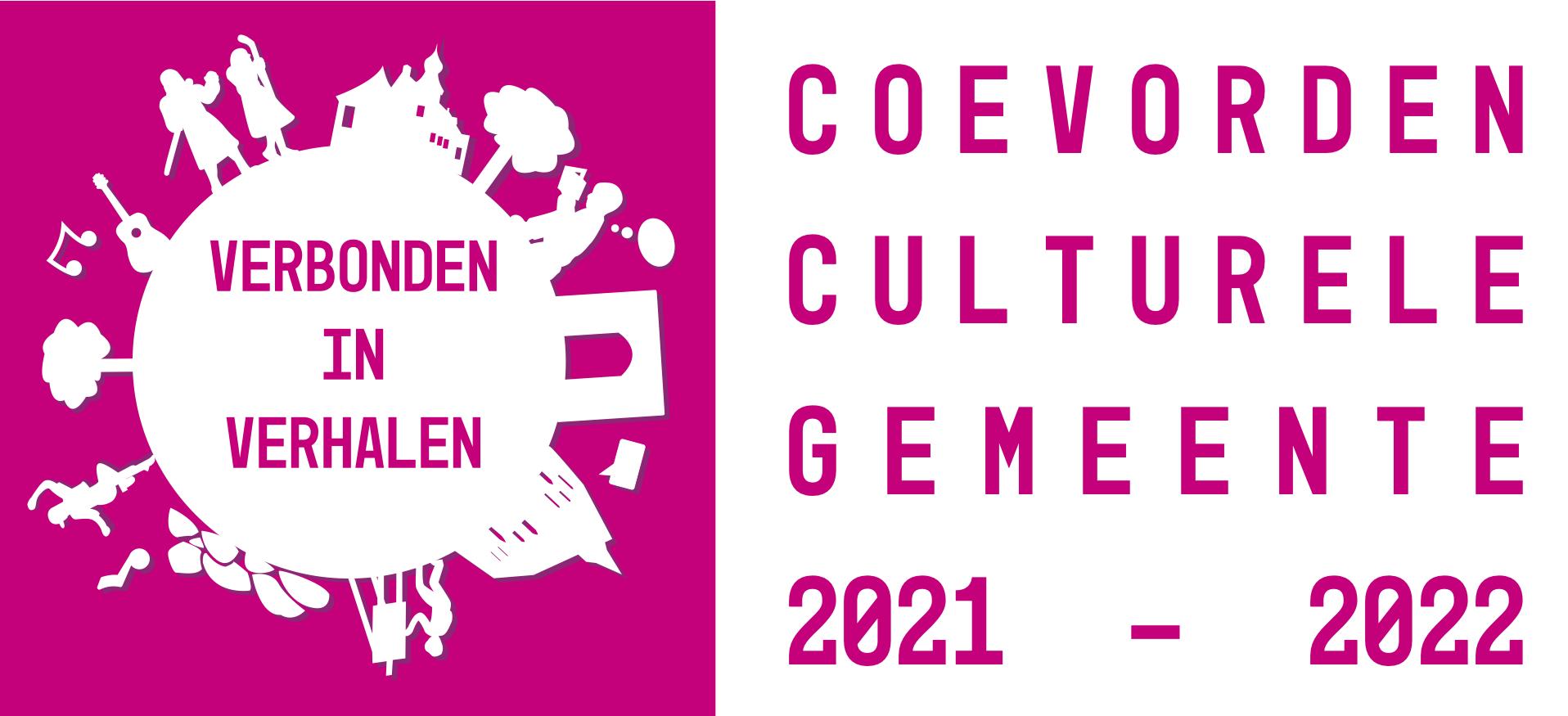 Logo van Cultureel Coevorden verwijst naar homepage