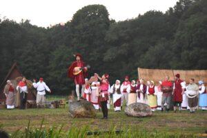 Bekendmaking Culturele gemeente tijdens de Toorn van Thunaer